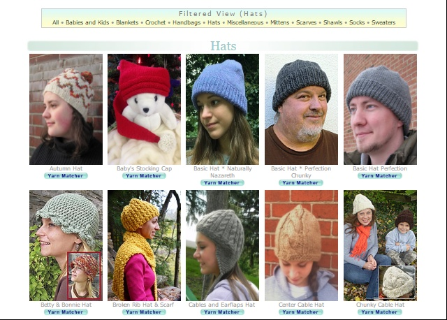 Hats patterns for Kraemer Yarns