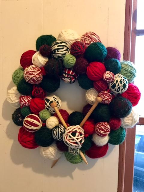 Kraemer Yarns Wreath
