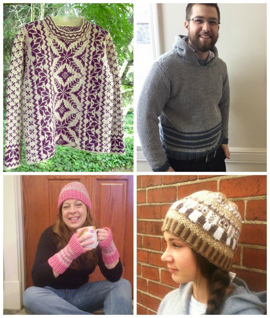 Free knitting colorwork patterns from Kraemer Yarns